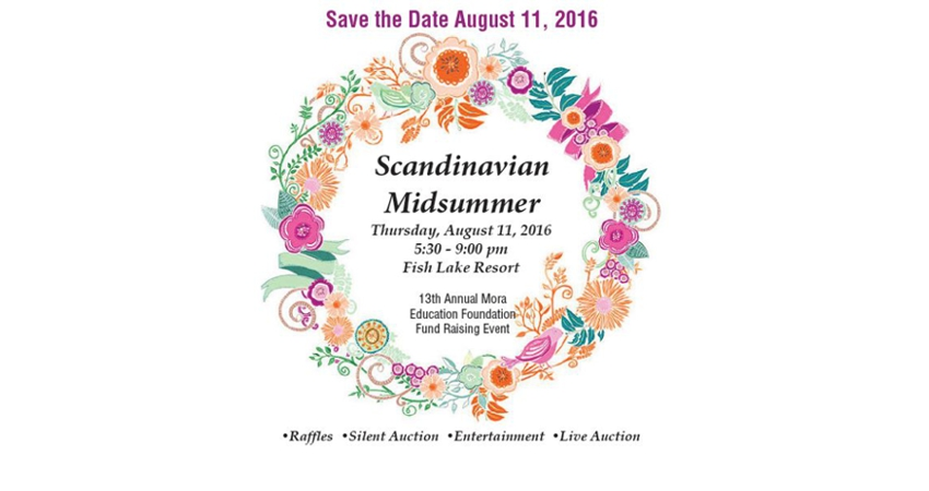 Save the Date - Moras Education Foundation 2016 Fundraiser