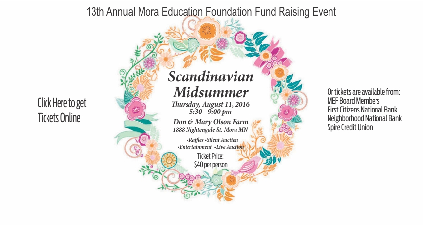 Mora Education Foundation 2016 Event